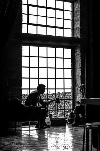 figures shadowfigure shadows streetphotography blackandwhite bnw bnwlovers bw monochrome window view people random cafe studioprojectphotography lamia sigma pentax vintage indoor