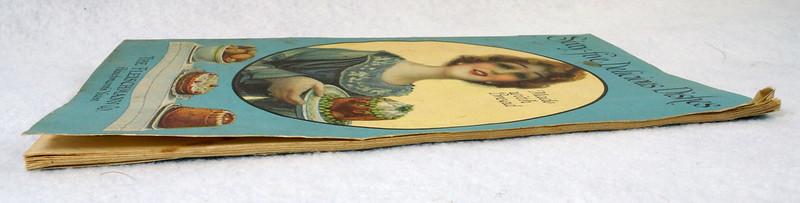RD4157 1919 Fleischmann Yeast Cook Book Booklet - 65 Delicious Dishes DSC08643