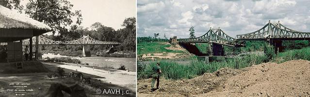 Cầu trên QL20 qua sông LA NGÀ, năm 1933 và trong chiến tranh Việt Nam, thập niên 1960