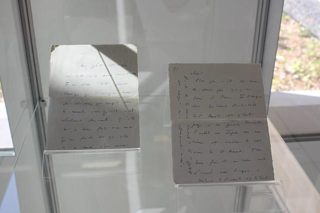 Françoise Sagan : Lettre à Véronique Campion - Médiathèque Françoise Sagan (Paris 10e)