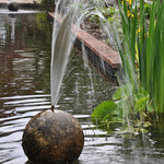 Abbey Gardens Water Feature 26-5-2014