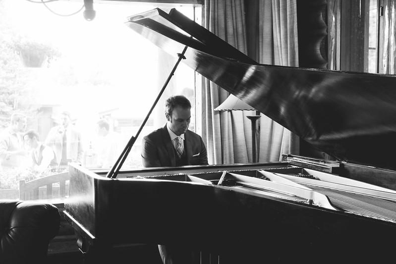 Chris on piano