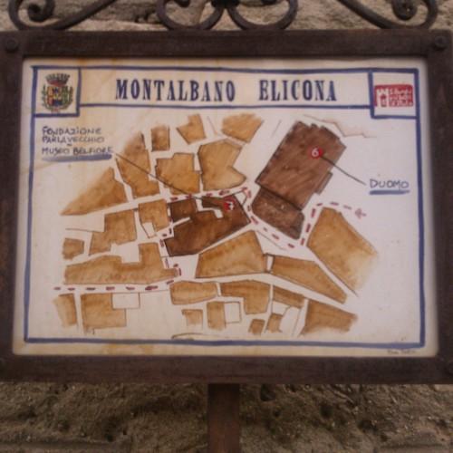Mappa Montalbano Elicona