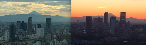18Fと35Fからの富士山比較