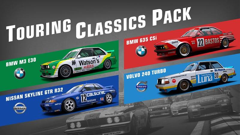 R3E Touring Classics Pack