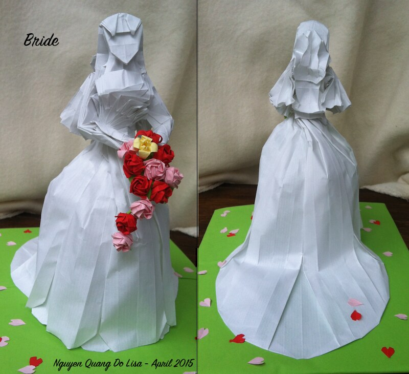 Origami Bride