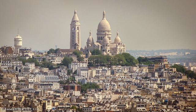 Sacré-Cœur Sits Atop Paris