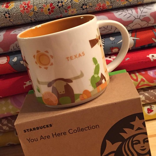 188:365 What?!? A Texas You Are Here Mug! About time 🐮 #Starbucks #youareherecollection #youarehere #tx #texas