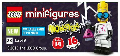 LEGO Collectable Minfigures Monsters