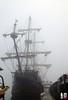 El Galeon in fog
