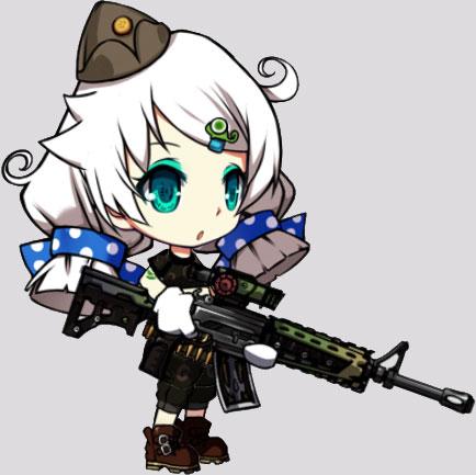 キアナ(M4A1・突)