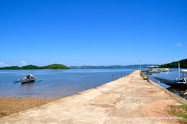 Pier of Barrio Salvacion Busuanga