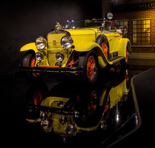 auto classic car reflections automobile colorado cadillac caddy gatewayautomobilemuseum