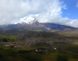 Chimborazo Volcano.  Ecuador.