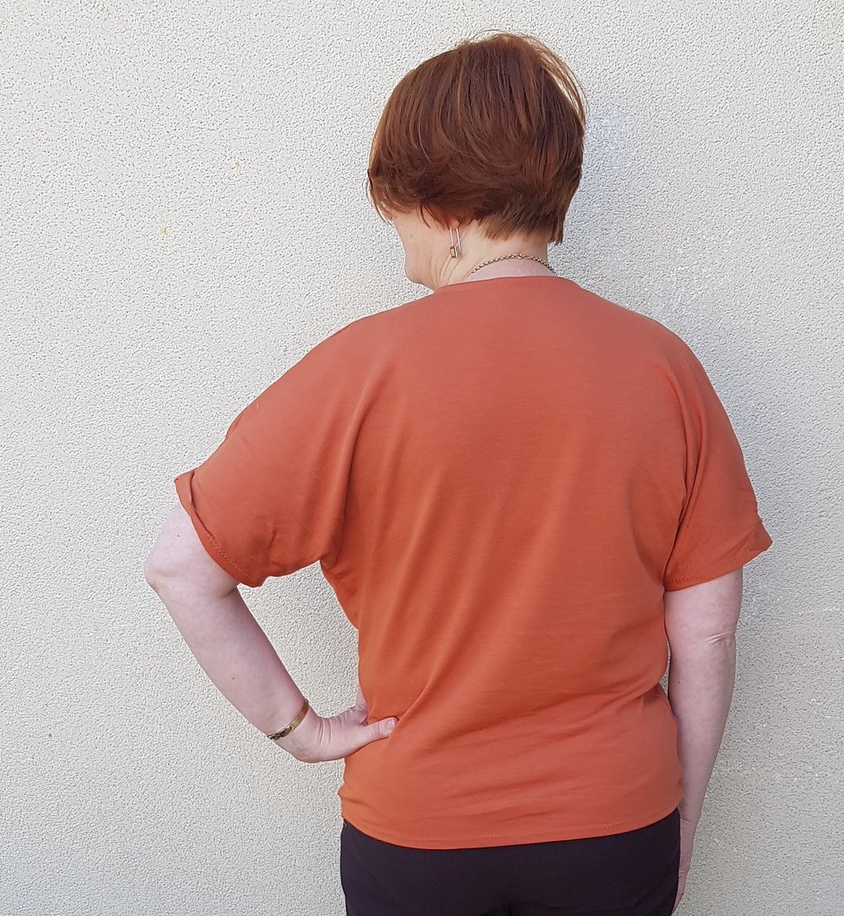 Style Arc Ginger top in knit from Clear It