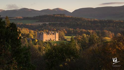 2016 drumlanrig drumlanrigcastle scotland sonya7ii sonyfe470200goss autumn sunrise woodland