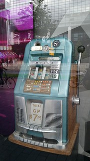 Hình ảnh của Holland Casino. rotterdam netherlands holland nederland centrum dutch europe grotemarkt slotmachine gampling vintage antique casino travel