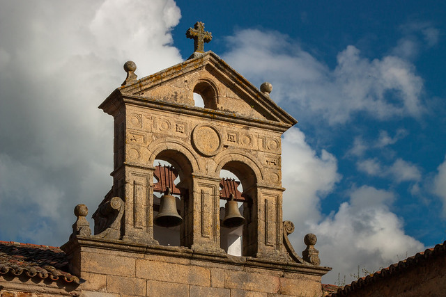 The Bell Tower of Convento De San Pablo, Caceres, Spain
