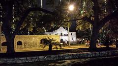 The Alamo at night 2