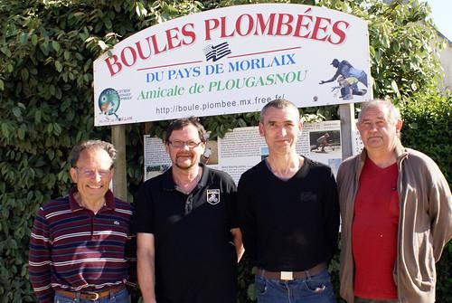 06/06/2015 - Primel Trégastel (Plougasnou) : Les finalistes du concours en doublettes mêlées