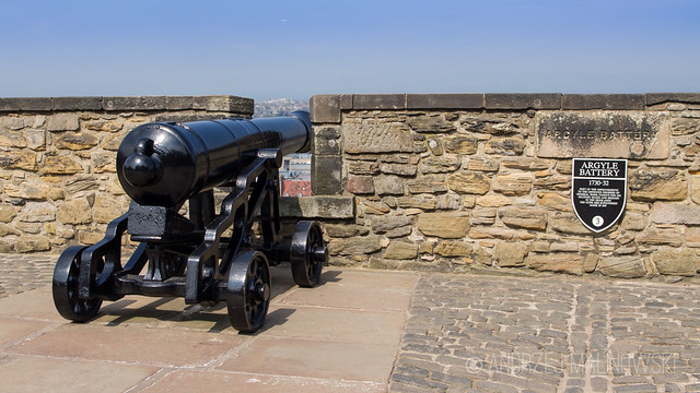 Cannon in Edinburgh Castle