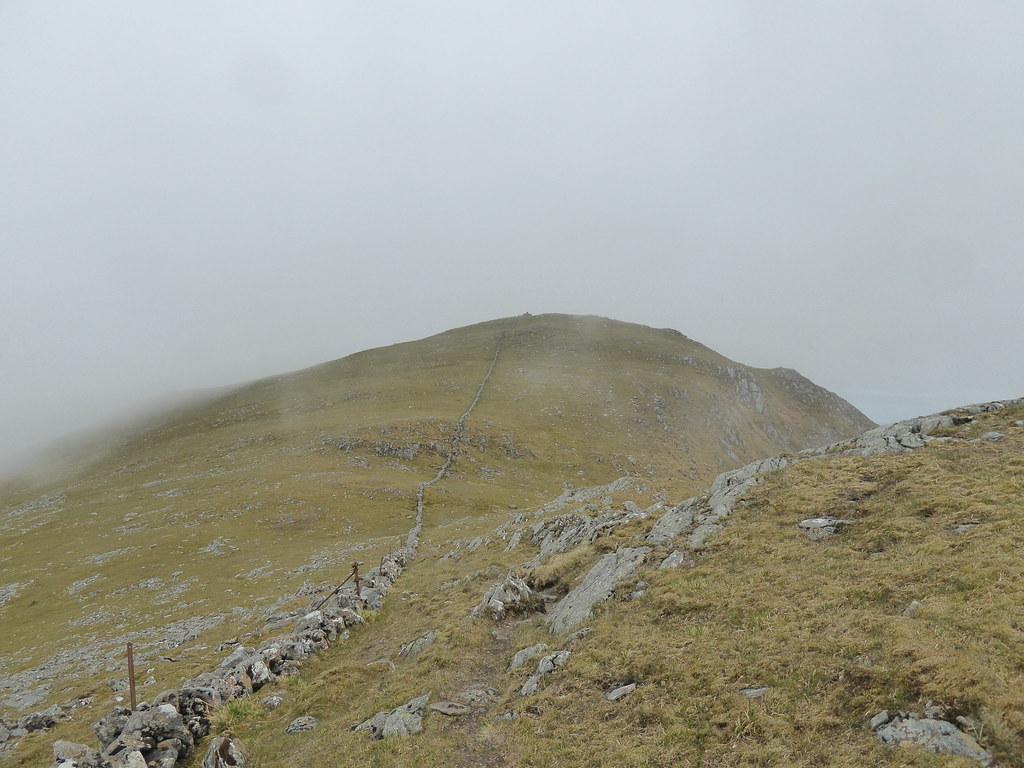 View to Rois-Bheinn west summit