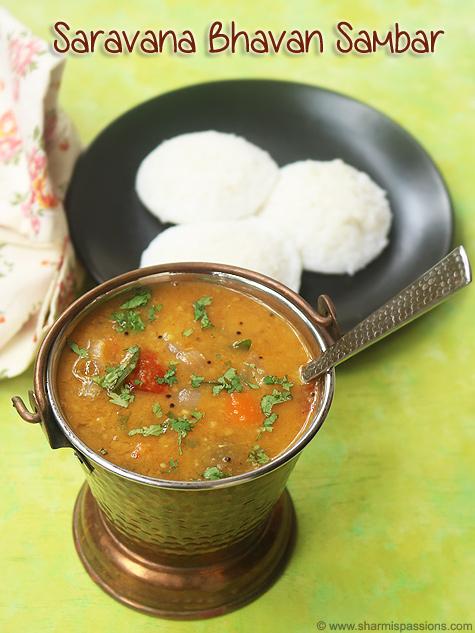 Saravana Bhavan Hotel Sambar Recipe