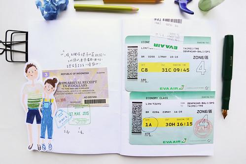 bali traveling book