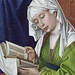 Saint Magdalene reading, detail 1d fl - London NG by petrus.agricola