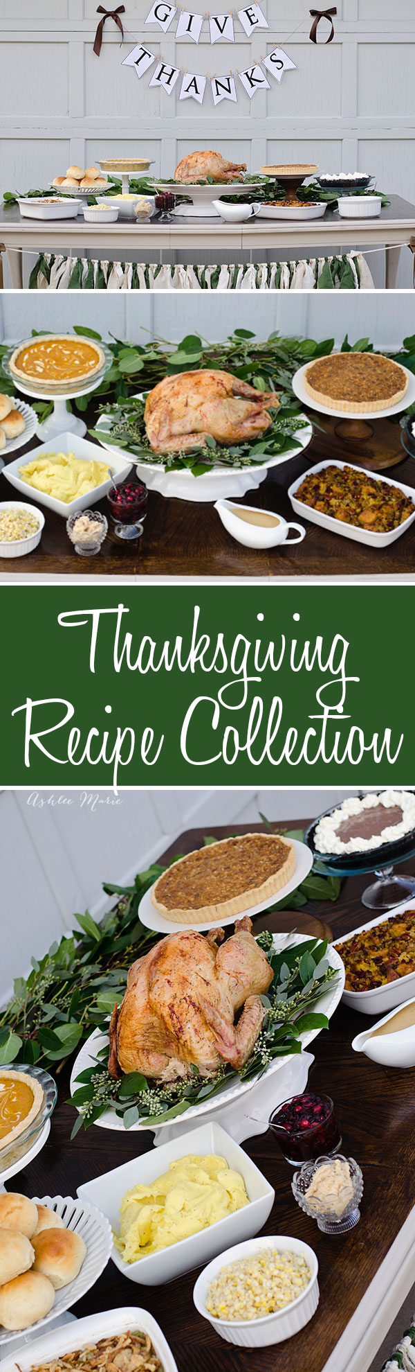 a full thanksgiving dinner from some of my favorite bloggers, traditional and unique recipes that everyone will love