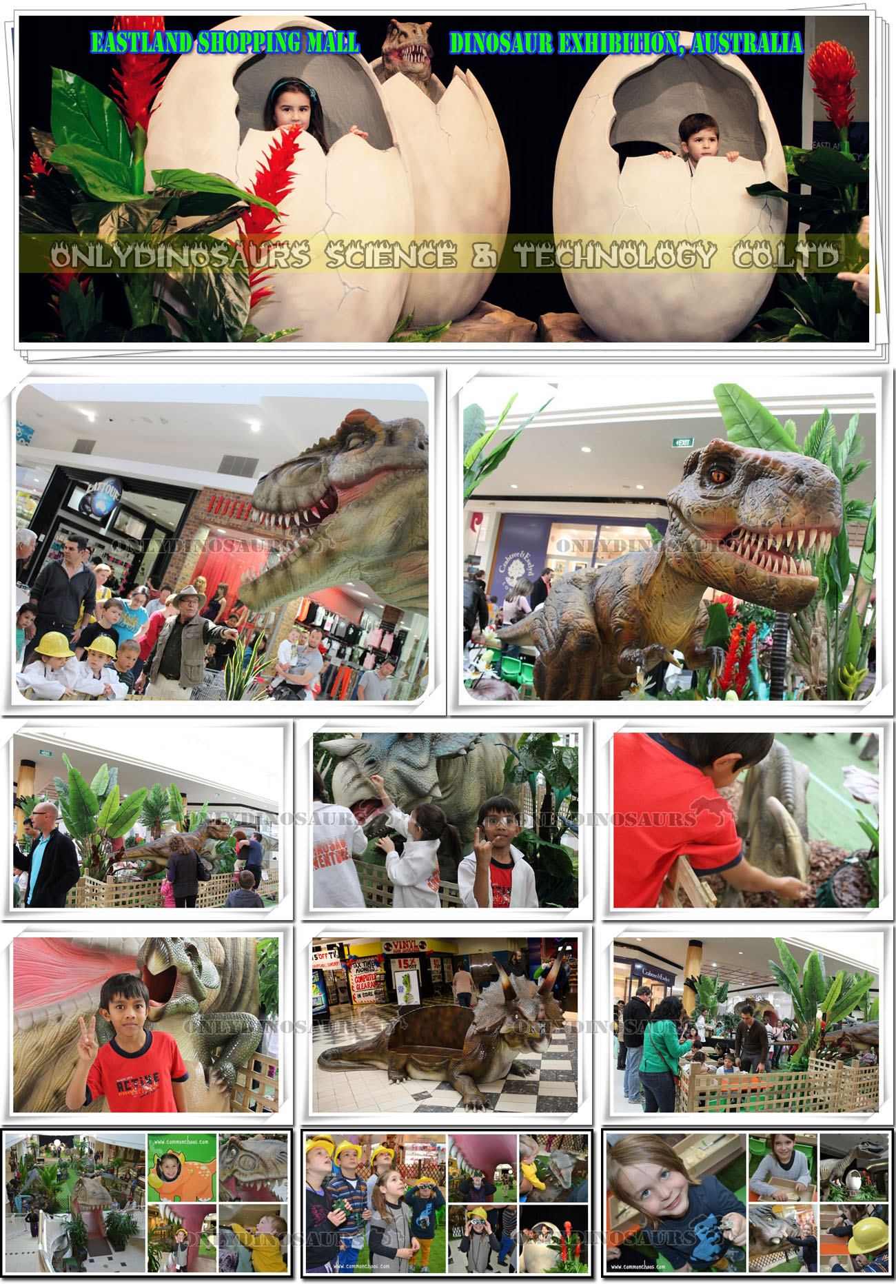 Shopping Mall Dinosaur Adventure