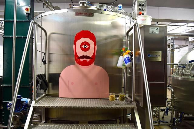 Mash Tun at Drygate Brewery, Glasgow
