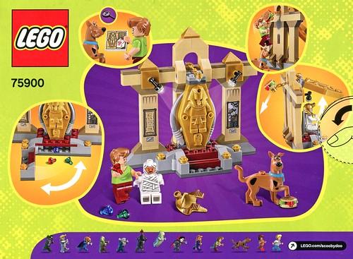 LEGO Scooby Doo 75900 Mummy Museum Mystery box05