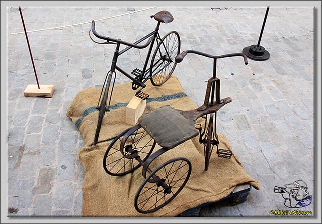 10 Exposición de bicicletas antiguas