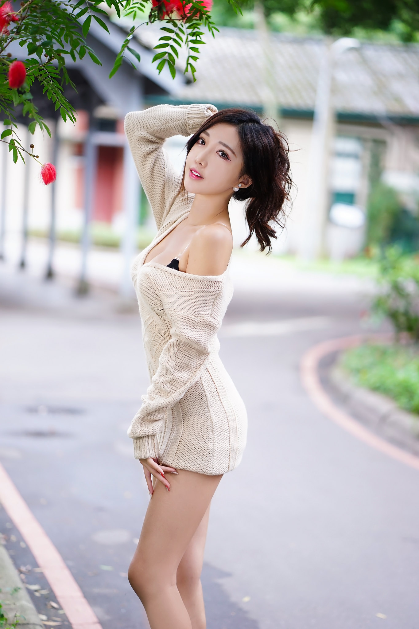 Gadis cantik dalam versi Cina dari Hong Kong