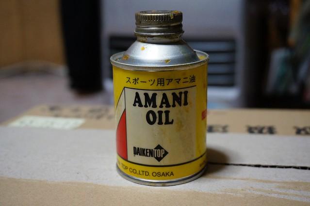 アマニ油を塗る