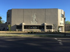 Civic Auditorium.  Clarksdale, Coahoma County, Miss.