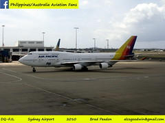 Former 747s at Sydney Airport