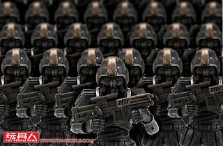 以『絕望』為武器的恐怖部隊入侵!《酸雨戰爭》地獄部隊(Abaddon Trooper) & 貨倉守衛機器傀儡(Puppet Container Guard)開箱報告