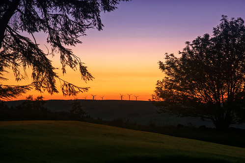 club sunrise golf scotland windmills moray dufftown