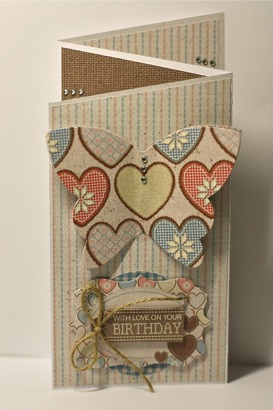 Craft collection Z fold card by StickerKitten