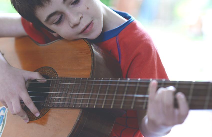 guitarreando. Litel 7