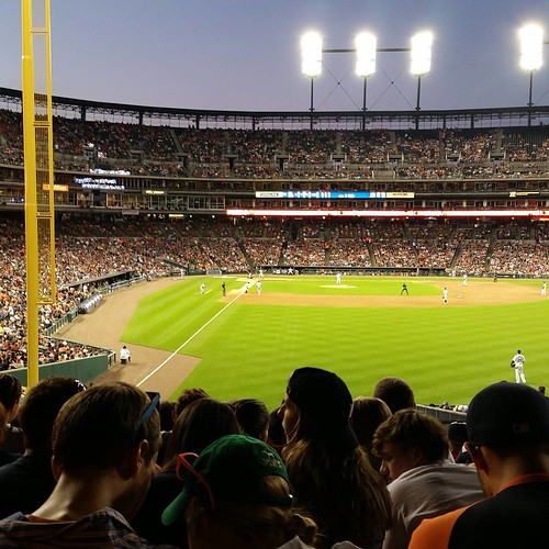 Perfect night for a ball game! #Tigers #StAnastasia #youngadults