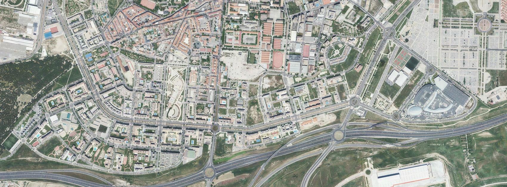 PAU de Carabanchel, Madrid, avenida de los peseteros, después, urbanismo, planeamiento, urbano, desastre, urbanístico, construcción, rotondas, carretera