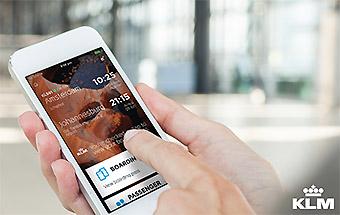 KLM aplicación móvil IPhone (KLM)