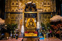 Golden Buddha in Ahlodawpyae Temple (Bagan)