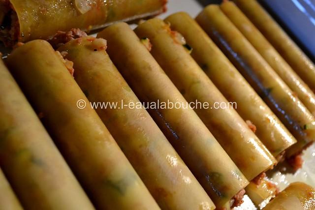Cannelloni au Porc et aux Courgettes © Ana Luthi Tous droits réservés 012