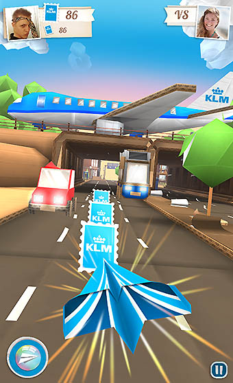 KLM aplicación jets (KLM)