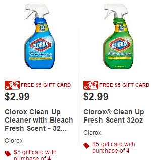 Clorox Coupons: 20 Printable Coupons for December $ off $ off one Clorox Clean-Up Cleaner + Bleach Product. 50¢ Off. Show Coupon. Print this coupon for $ off.
