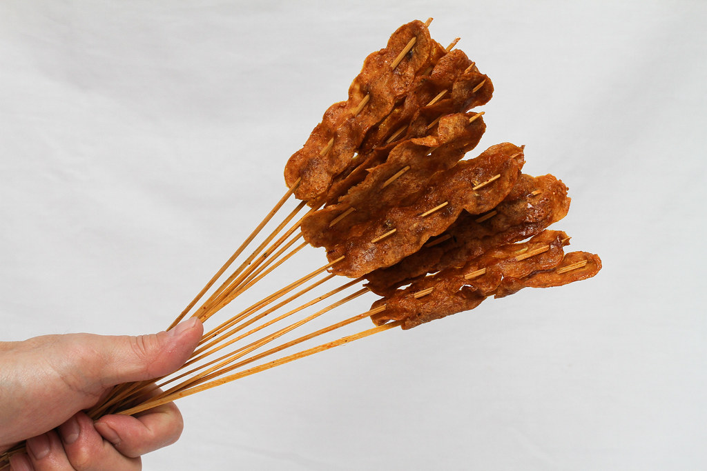 50 Childhood Snacks Singaporeans Love: Satay ampai